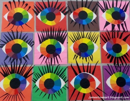 Elements Of Visual Arts : Elements of art color wheel eyes u fox river academy